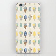ice cream pattern  iPhone & iPod Skin
