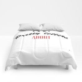 Pretty Letters Comforters