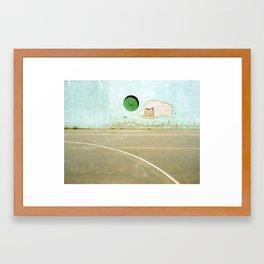 Barcelona Court Framed Art Print