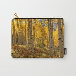 Autumn Aspen Forest Aspen Colorado Carry-All Pouch