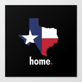 Texas Proud Canvas Print