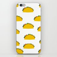 taco iPhone & iPod Skins featuring Taco  by Beautiful Artworks