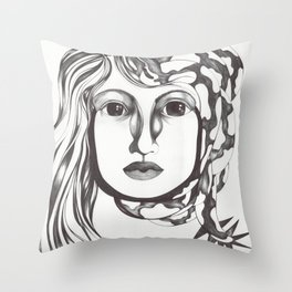 Nido inherte Throw Pillow