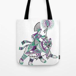 The Bear Rider Tote Bag