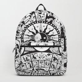 Calendar of Mysterious World Backpack