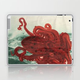Octopus Beach Laptop & iPad Skin