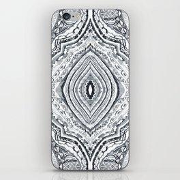 Black & White Diamond iPhone Skin