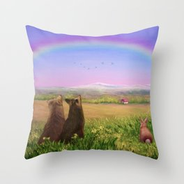 Look Up For Hope Throw Pillow