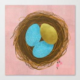 Nest Egg Canvas Print