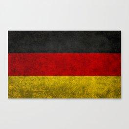 Flag of Germany - Vintage version Canvas Print