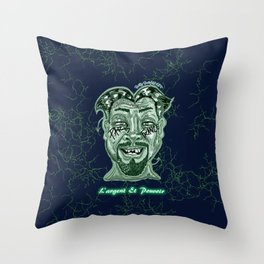 Money and Power Throw Pillow