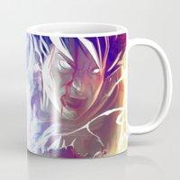 goku Mugs featuring Goku by MATT DEMINO