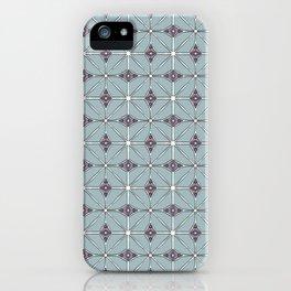 Geometrical patterns iPhone Case