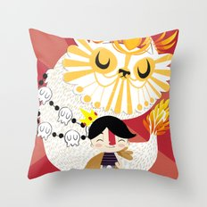 Puss in Boots Throw Pillow