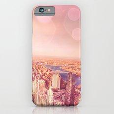 New York City Skyline of Light iPhone 6s Slim Case