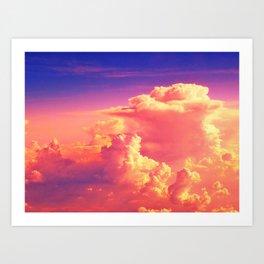 Sunset Sky of Dreams Art Print