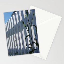 WHITE PICKET FENCE PORT ISAAC CORNWALL Stationery Cards