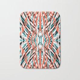 Swirling Shield | Saro-Gongo Pattern Bath Mat