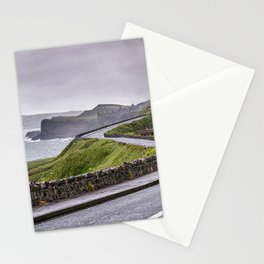 Windy road,Dunluce castle,Ireland,Northern Ireland Stationery Cards