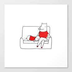 Relax Time Canvas Print