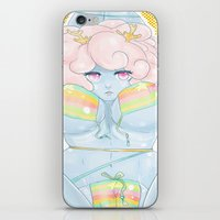 coraline iPhone & iPod Skins featuring Coraline by KazuneKoi