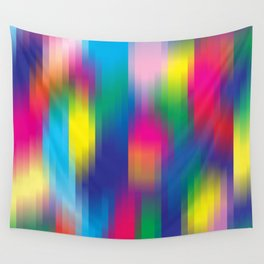 color pixel Wall Tapestry