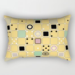 Geometrical abstract pattern 2 Rectangular Pillow