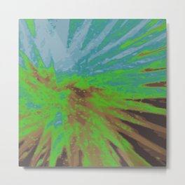 Psychedelica Chroma XIV Metal Print