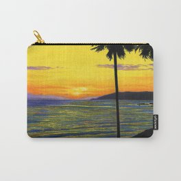 Pismo Beach, California- Sunset Carry-All Pouch