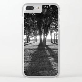 The Dark of Dawn Clear iPhone Case