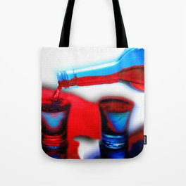 The Drink That Inspires You Ode To Addiction Tote Bag