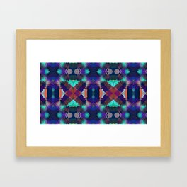 Abstract Patchwork Framed Art Print