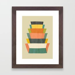 Bare essentials Framed Art Print