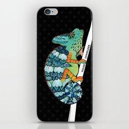 Veiled Chameleon II iPhone Skin