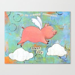 Alice the Dream Pig Canvas Print