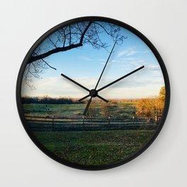 Invigorating Fall Wall Clock