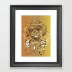 Aire de las Nieves Framed Art Print