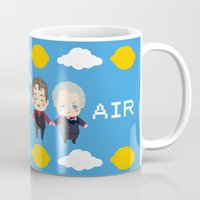 cabin pressure Mugs featuring Cabin Pressure: The Lemon is With You by Le Bear Polar