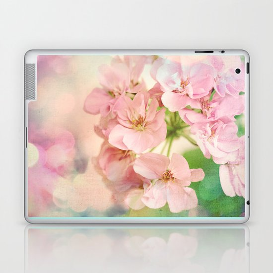 Candy Pink, Lime Green, Vanilla Cream Laptop & iPad Skin