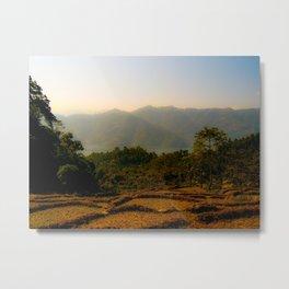 Nepalese valley  Metal Print