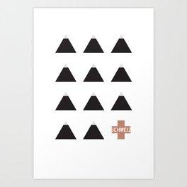 Gruezi//Thirteen Art Print