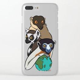 World Lemur Day 2017 Clear iPhone Case