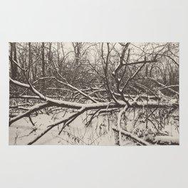 tangled woods Rug