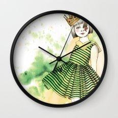 Little Queen Wall Clock