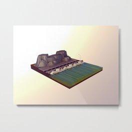 Sea Front Metal Print