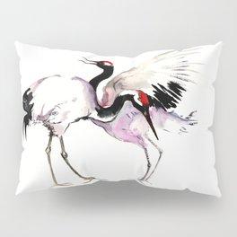 Japanese Crane Pillow Sham