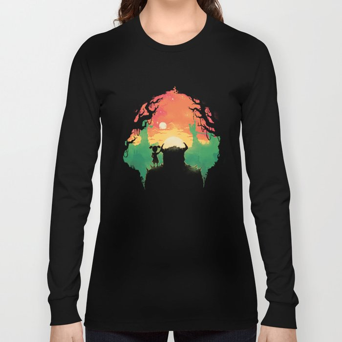 Sunset with a friend Long Sleeve T-shirt