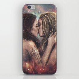 She bowed to one star iPhone Skin