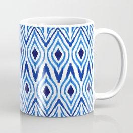 Ikat Blue Coffee Mug