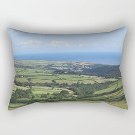 Moutain Road - Isle of Mann Rectangular Pillow